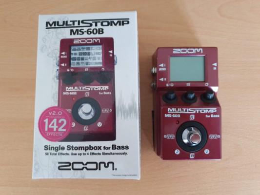 Zoom Multi Stomp MS-60B (Regalo Mooer Micro DI)