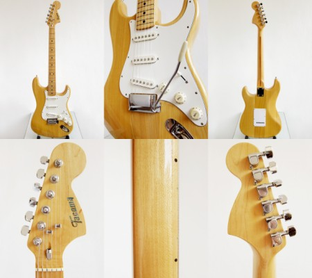 Tacoma Stratocaster, Made in Japan 1970's ¡Ahora con video!