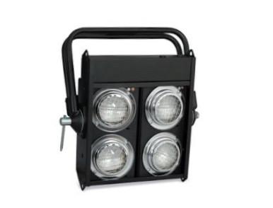 Cegadora dmx 4 work + 4 lámparas
