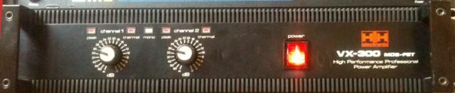 Etapa de Potencia Stereo  HH Modelo VX-300