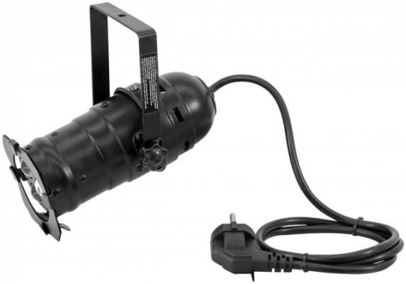 Pack Focos negro PAR-16 EUROLITE Spot