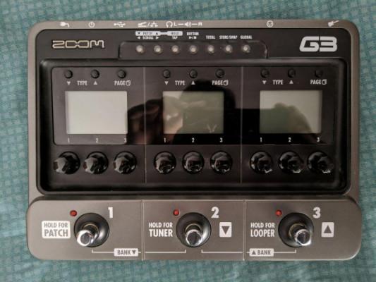 ZOOM g3 - Pedalera multiefectos USB / Caja de ritmos