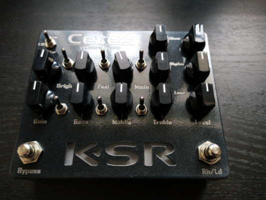 Pedal KSR Ceres Preamp