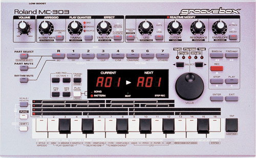 Roland MC 303 para piezas o su placa base