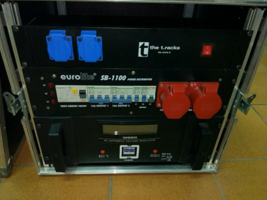 Rack eléctrico