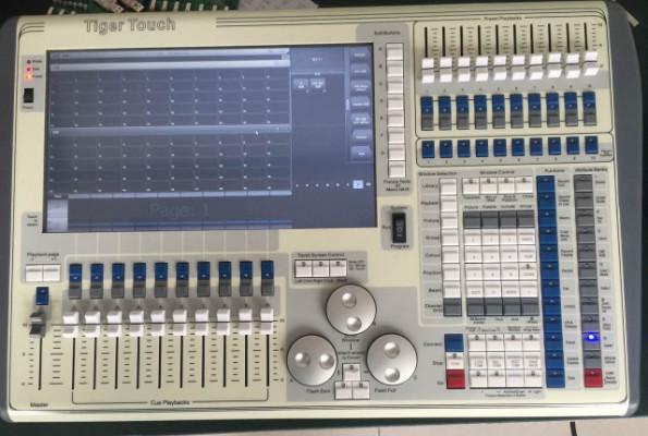 Control de Luces Tiger Touch II V 9.1/10.2