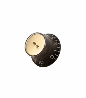 Compro botones Top Hat Negros y dorados para Les Paul