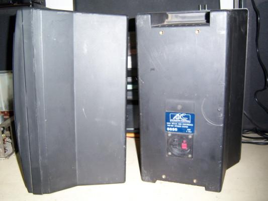 Pareja de monitores ACUOSTIC CONTROL AC603 de 100 y 8 ohm.