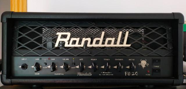 Randall RD20H Cabezal