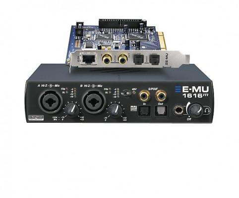 Tarjeta de sonido E-MU 1616m PCI