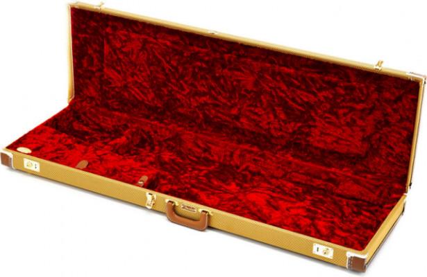 Estuche bajo Precision Fender C&G Dlx P-Bass Case Tweed