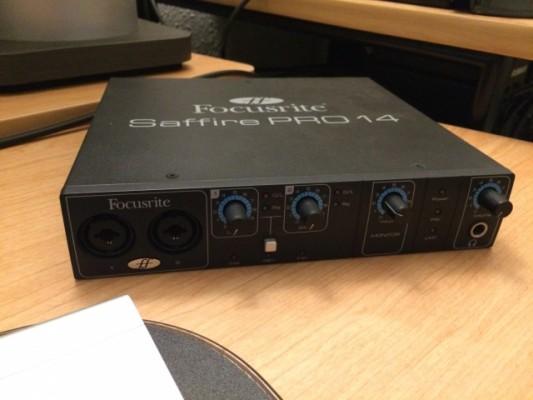Tarjeta de sonido Focusrite Saffire Pro 14