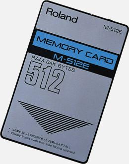 Tarjeta data card memory para Roland Jv 2080