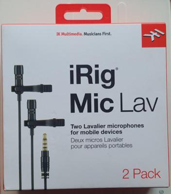 Irig mic Lav 2 pack