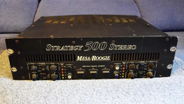 ETAPA  MESA BOOGIE STRATEGY 500