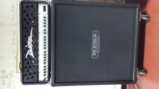 Pantalla Mesa Boogie rectifier 4x12  recta última rebaja
