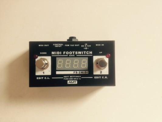 Pedal de cambio Midi AMT FS-2