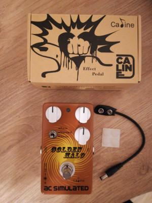 Pedal simulador guitarra acústica CALINE CP-35