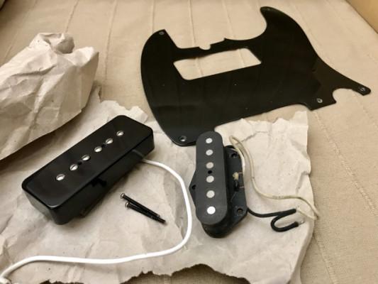 Pastilla P90, Broadcaster, Bakelite pickguard - Suhr -