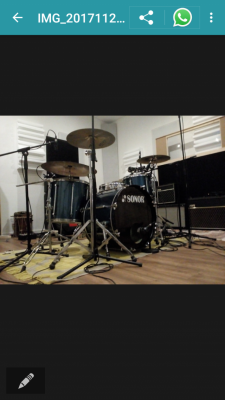 bateria Sonor