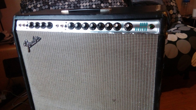 Fender Quad Reverb 79´s silver face
