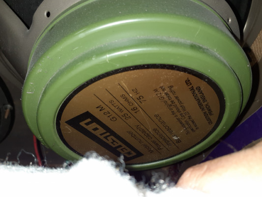 Celestion greenback made in england