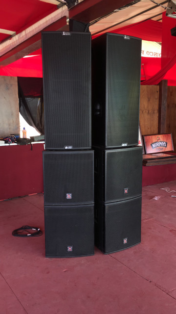 Subwoofers x-treme xtds18/A activo