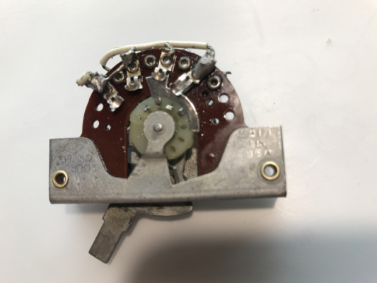 1965 Fender Stratocaster 3-Way Switch Telecaster 1964 1966 1967 1