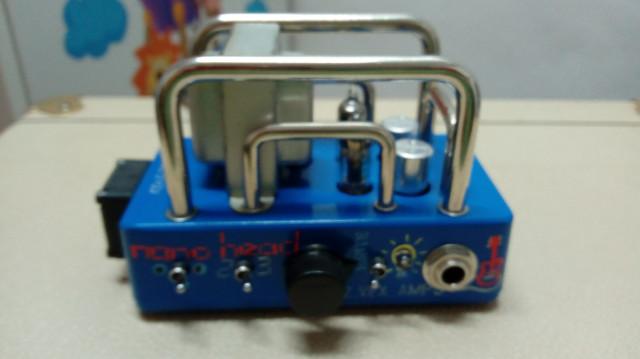George Tornado, Zvex Nano Amp, Pantallas y altavoz
