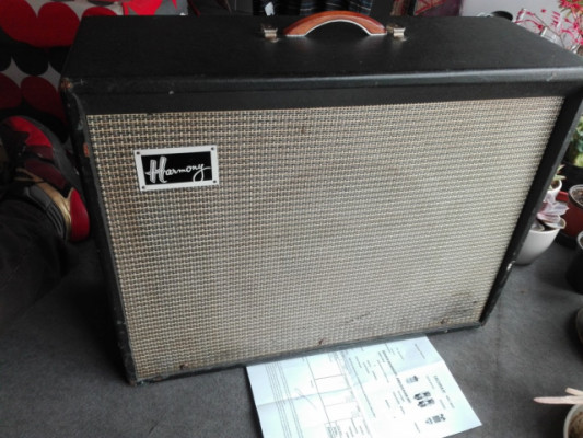 Harmony H 306 A 1964 made in Chicago