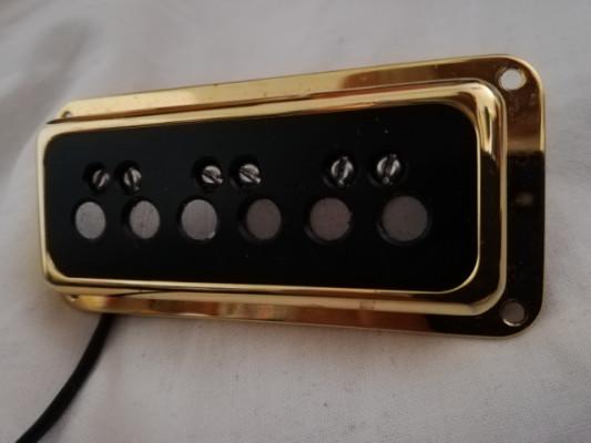 PASTILLA GRETSCH DYNASONIC GOLD NECK