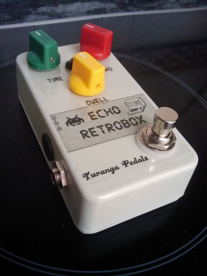 Turanga Echo RetroBox. Delay estilo analógico