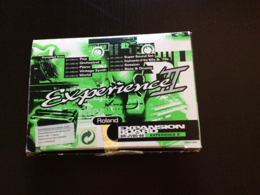 Tarjeta Expansion Roland Experience II