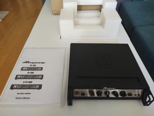 Stack Ampeg Portaflex PF350 + 2 pantallas Ampeg SVT210AV