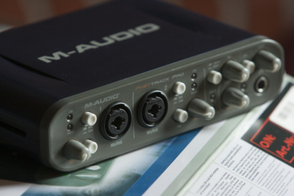 Tarjeta sonido M-Audio Fast-Track Pro