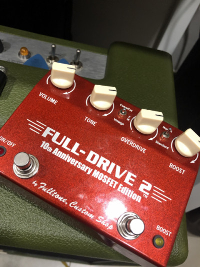 Fulltone Fulldrive 2 Custom Shop