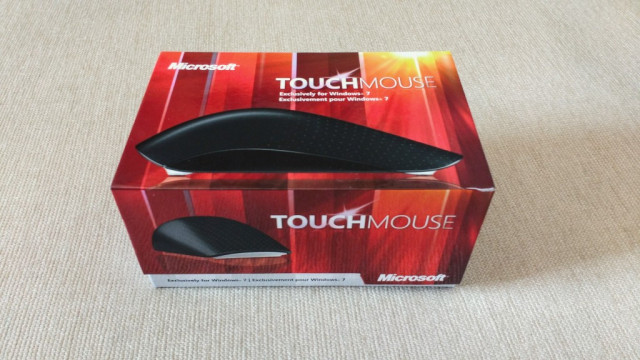 Ratón inalámbrico Microsoft Touch Mouse