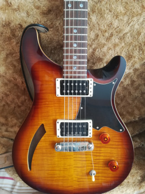 Prs Se Custom up grade semihollow moon inlays 2009
