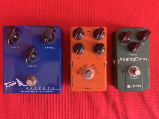 Pack Pedales (distorsion+overdrive+delay)