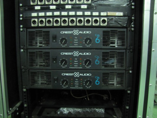 Etapa Crest Audio CA6 3 unidades disponibles