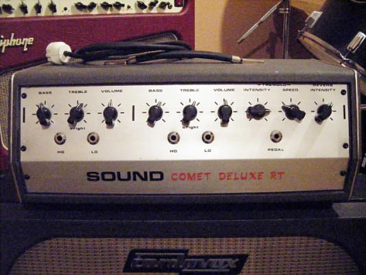 Cabezal Sound Comet Deluxe RT, VOX AC30 RVB+TREM. Envío incluido.