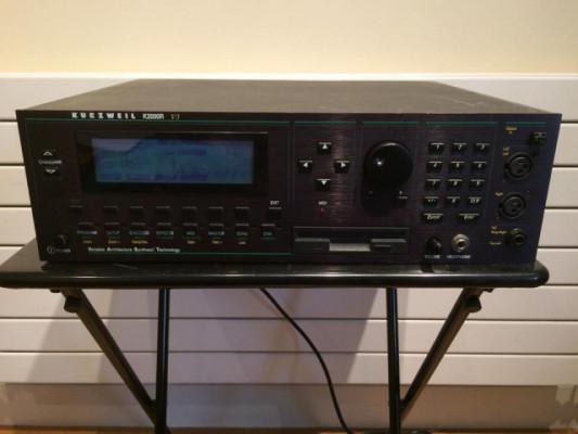 modulo rack sintetizador kurzweil k2000R