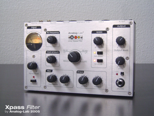 Analog Lab Xpass Filter