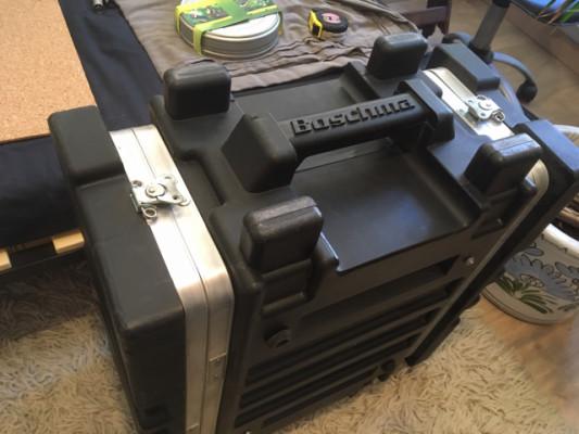 Boschma Roto Rackmount Flight Case 4U Black