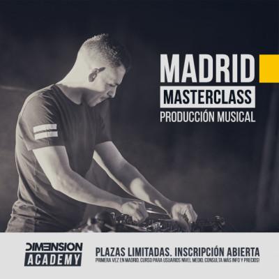 Cursos De Producción Musical con el productor internacional DIM3NSION.