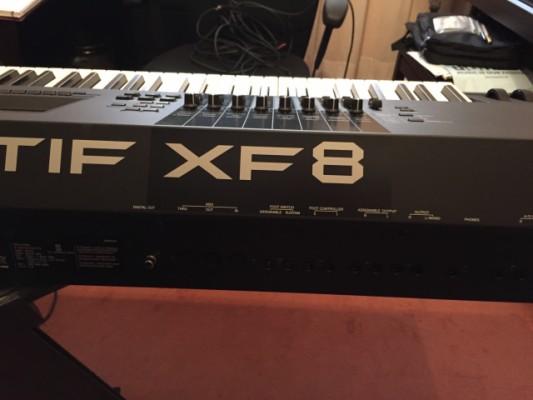 Motif XF8 con 2 GB de Flash y librerías 40 aniversario originales