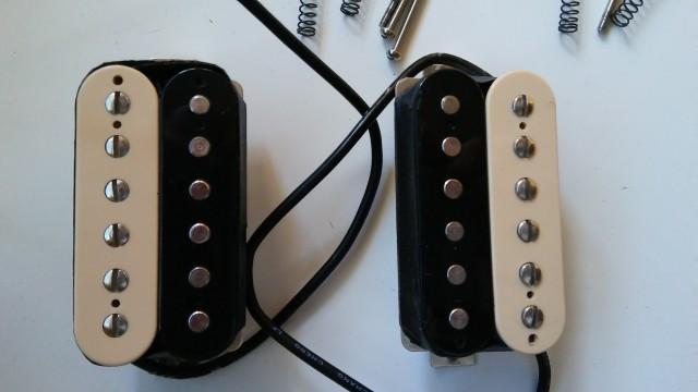 Juego pastillas Gibson 61 Zebra Humbucker