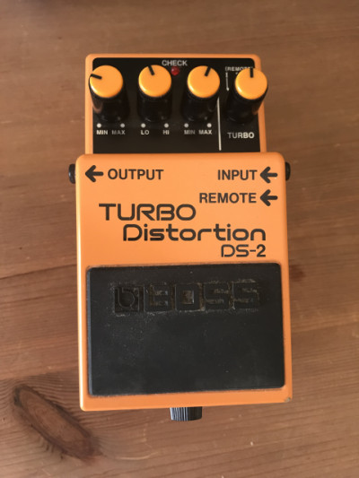 Pedal turbo-distortion DS-2
