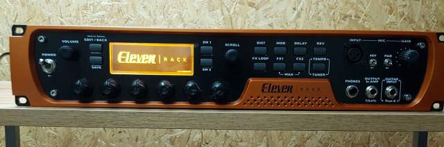Avid Eleven Rack + Behringer FCB1010
