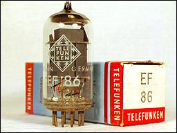Válvula Telefunken EF 86